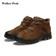 WalkerPeak New Mens Hiking Shoes Winter Outdoor Boots Women Walking Jogging Shoes Mountain Sport Boots Men Climbing Sneakers