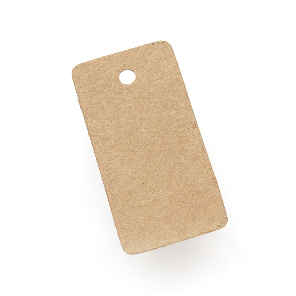 100pcslot 25x50mm paper mark new brown kraft paper tags rectangle 100pcslot 25x50mm paper mark new brown kraft paper tags rectangle hang pricing label sign gift tag kraft f2756 in jewelry packaging display from jewelry jeuxipadfo Choice Image