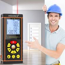 HiDANCE Laser Distance Meter 40M 60M 80M 100M Laser Rangefinder Laser Tape Range Finder trena ruler Diastimeter Measure Roulette