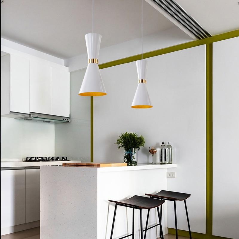 Moderne indoor hanglamp licht badkamer aluminium lights hanglamp led ...