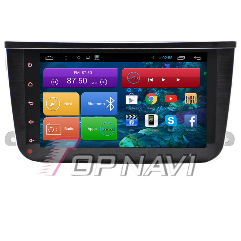 TOPNAVI 8 Quad Core Android 6 0 Car GPS Navigation for Smart 2010 2011 2012 2013