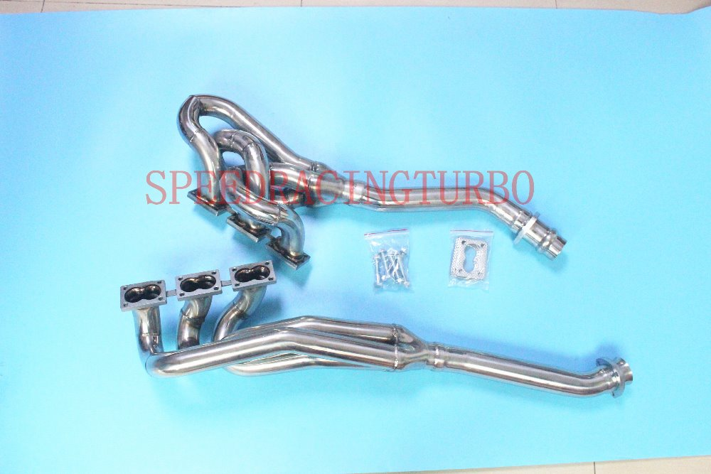 <font><b>EXHAUST</b></font> HEADER MANIFOLD FOR <font><b>BMW</b></font> M88/3 M5 E28 M635CSi E24 M6 <font><b>E30</b></font> S38B38 S38B36 image
