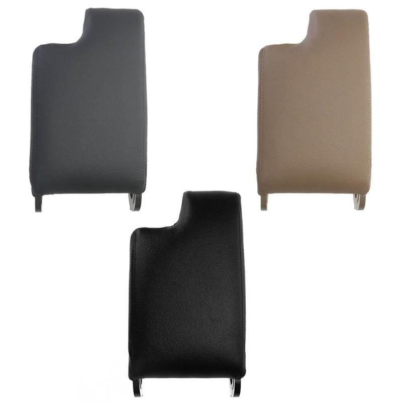 Synthetic Leather Car Armrest Center Console Lid Arm Rest Cover Lid for BMW 3 Series E46 99-04 Car Auto Interior Accessories fit for audi a4 b6 b7 armrest arm rest center console storage box lid cover car interior styling 2002 2003 2004 2005 2006 2007