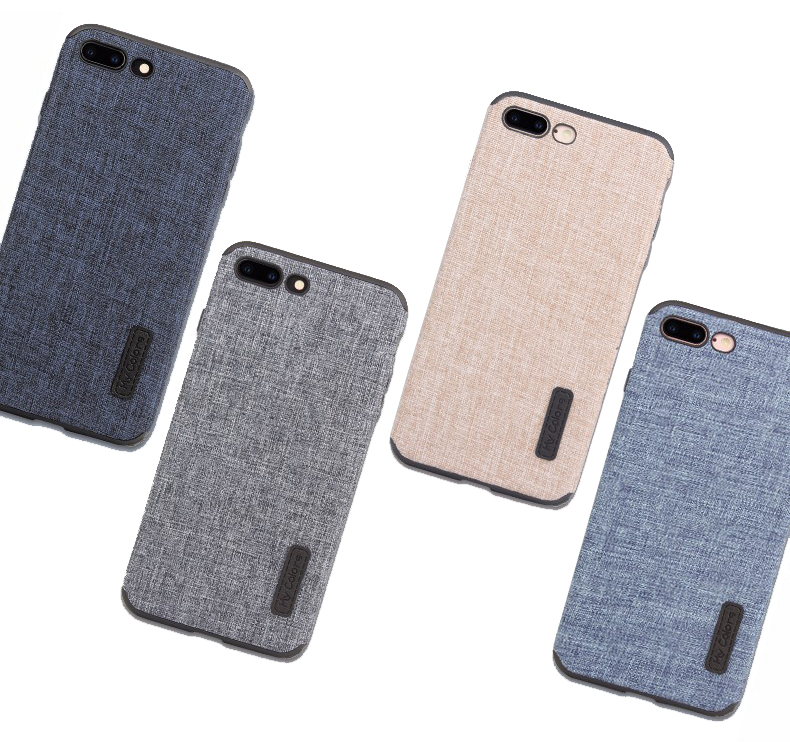Cloth Case For iPhone 8 8 Plus Fashion Linen Cloth & Soft TPU Silicone Anti-knock Cover For iPhone 7 7 Plus Phone Protective Shell (10)