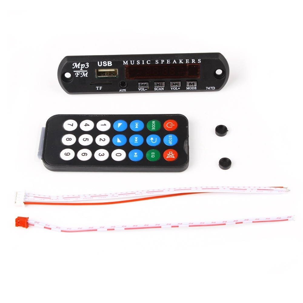 Micro USB DC 5 V MP3 Decoder Board 5 V FM Audio Module for Car Remote Music Speaker