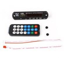 DC 5V Micro USB Power Supply TF Radio MP3 Decoder Board Cheapest 5V FM Audio Module for Car Remote Music Speaker