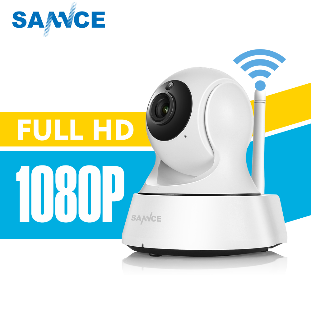 SANNCE 1080P HD Wireless IP Camera 2.0 MP home Security Camera WiFi CCTV Surveillance camera Baby Monitor 1920 * 1080 sannce 1920 1080p hd wireless pan