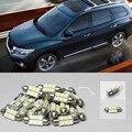 Бесплатная Доставка!! #25 9x Белый СВЕТОДИОДНЫЕ Фонари Интерьер Пакет Грм Для Nissan Pathfinder 2005-2012