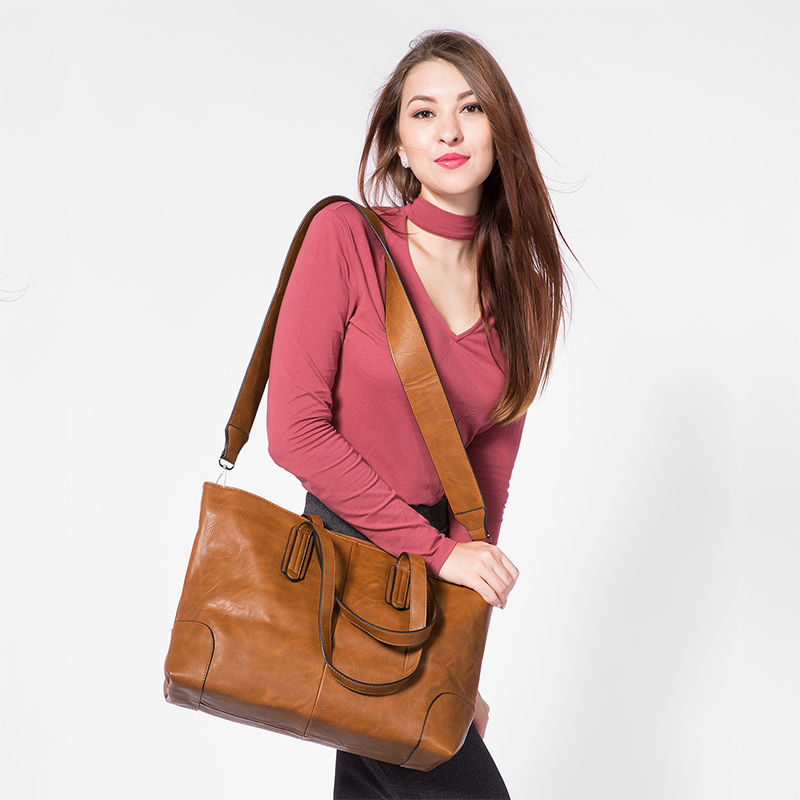 large capacity shoulder crossbody bag