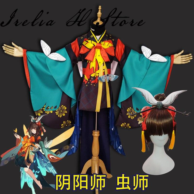 Mushishi Onmyoji Game Cosplay Costume Mushishi cosplay costume Kinomo Halloween Costumes 1
