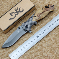 Browning series folding knife 5cr13mov blade outdoor camping folding tactical knife edc pocket survival tool.jpg 200x200
