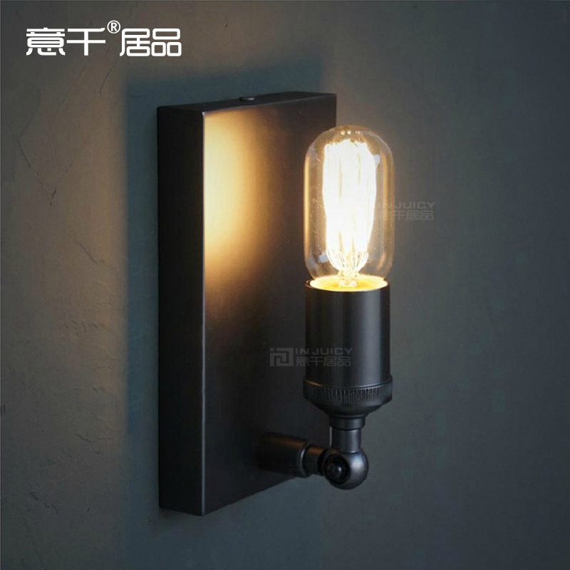 American Country Industrial Wall Lamp Counter Balcony Edison Vintage Light Coffee Shop Cafe Bar Dining Room Hall Way Club