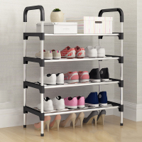 Shoe Rack Easy Assembly Plastic Multiple layers Shoes Shelf Storage Organizer Stand Shoe cabinet Fashion living room furniture