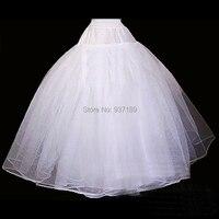 2015 Real Vestido De Noiva Ball Dress High Quality Oversize Wedding Gown Crinoline Petticoat Slip Organza
