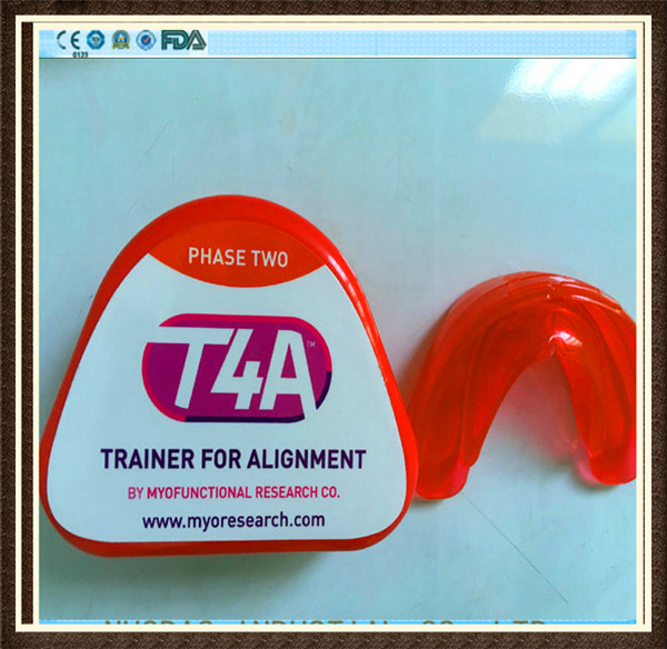 Good quality Original T4A red hard phase II Dental Orthodontic Appliances Myofunctional