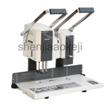 semi-automatic financial binding machine accounting documents paper binding machine hot riveting electric punching machine