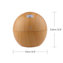 Cool Mist Aroma Air Humidifier Essential Oil Diffuser 130ML LED