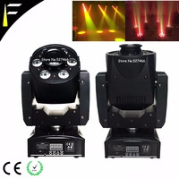 1x30w LED 7 Gobo 7 Color+White Stage Spot Light Match 6x8w LEDs RGBW 4in1 Wash Moving Head Spot Light HipHop Disco Party