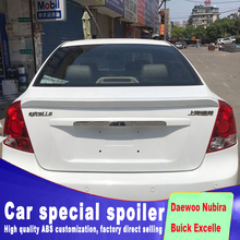high quality ABS material spoiler for Daewoo Nubira / Buick Excelle spoilers rear wing spoiler 2003 2004 2005 2006 2007 spoiler ветровики korea daewoo nubira 1 2 1997 2006