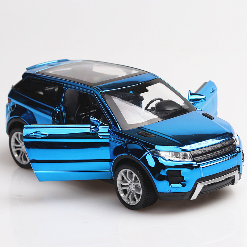 1/32 Famous SUV Model L=15CM Sport Car 3 Openable Doors 8Colors Available 4 Plated Colors Collect Them All Item W/Lights& Sound image