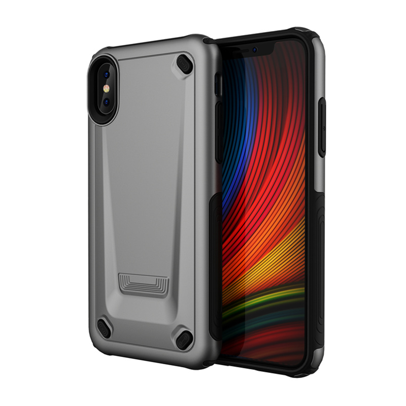 Luxury Strong Hybrid Tough Shockproof Armor Phone Case For IPhone XS MAX XR X 8 7 6 6s Plus Cases TPU Bumper+Hard PC Cover Funda
