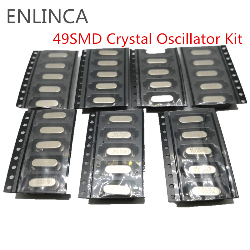 Crystals 20MHz 8pF 50 pieces //-20ppm