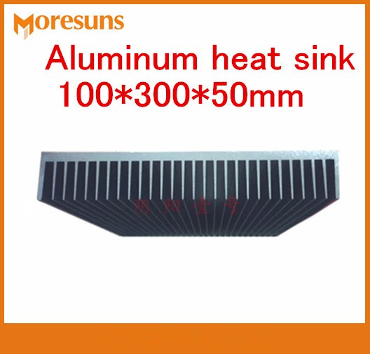 Free ship Aluminum heat sink 100*300*50mm electronic radiator amplifier thermal cooling boards Heatsink fast free ship module heatsink 140 12 5 50mm pure aluminum electronic radiator power amplifier cooling plate