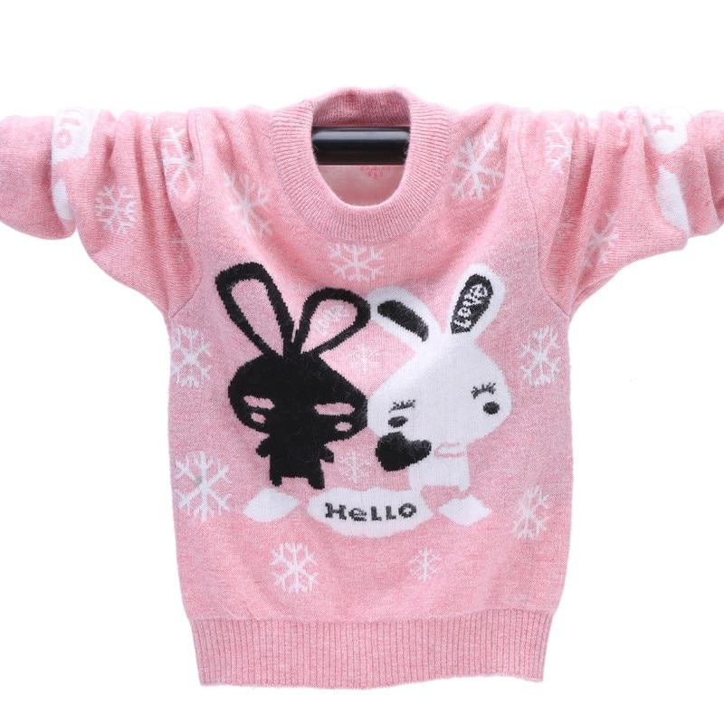 Winter High Quality Cashmere Sweater Kids Pullover Sweater Warm Children Cardigan Girs Fine Soft Wool Sweater Jumper100-160 cm недорго, оригинальная цена