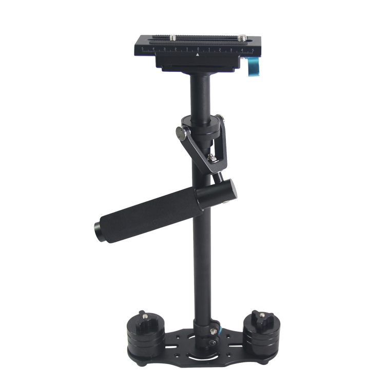 New 60cm Aluminum Tube Steadycam,Steadicam s60 handheld camera stabilizer video steady for DSLR cameras Compact Camcorder ajustable s60 gradienter handheld stabilizer steadycam steadicam photo studio stabilizer accessories for camcorder dslr