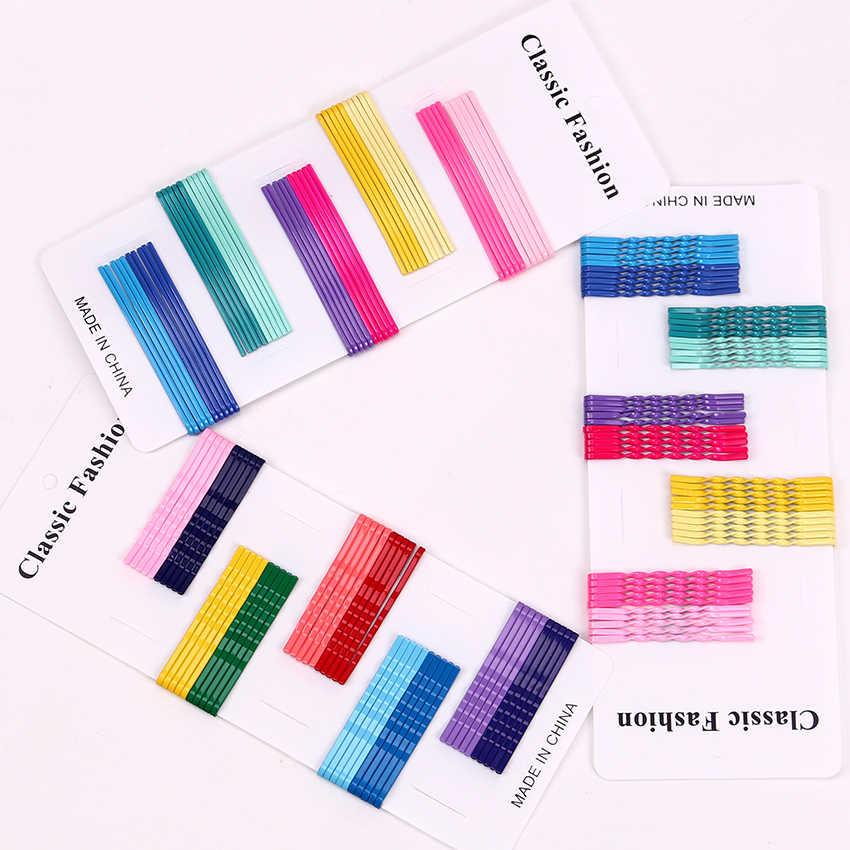 50 шт. Модные женские заколки для волос ярких цветов, заколка для волос, многоцветная заколка для волос, заколка для волос