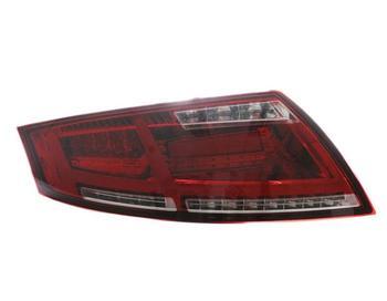передние фары Audi | Один комплект 2 шт. автомобильный Стайлинг для 2006 ~ 2013 года TT задние фонари светодиодная сигнальная лампа TT задний фонарь DRL + поворот + тормоз ...