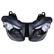 Black Motorcycle Headlights Assembly Motocicleta Front Head Light Cafe Racer For Kawasaki Ninja ZX6R ZX-6R 2009 2010 2011 2012