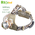 Military camouflage High power headlight USA CREE-T6 LED 6000K 5000 lumen Head light Head lamp rechargeable headlamp SOS Fishing