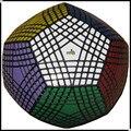 Nueva Rare 9-capas Megaminx Dodecahedron Mf8 Teraminx Superficies Laterales 9x9 9x9x9 puzzle Negro Mágico cubo educación aprendizaje