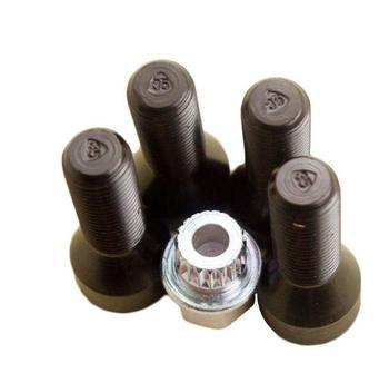 1เซ็ตล้อล็อคน็อตชุดสำหรับBMW E65 E66 E83 7ซีรี่ส์X3 36136786426 2000-2010