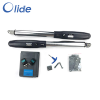 Olide Automatic Swing Gate Closer Outdoor,Single/Double Arm Garage Opener System