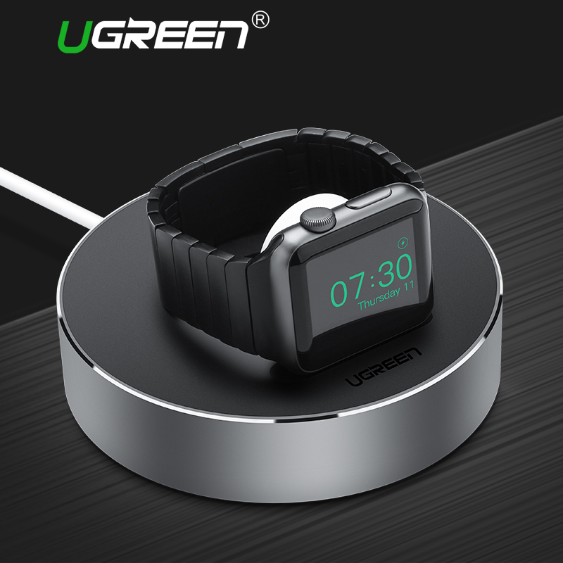 Ugreen Charging Stand Holder for Apple Watch 38mm 42mm Charger Dock Station for Apple Watch Series 3 & 2 & 1 Charge Holder