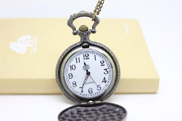1026) 12 шт/партия винтажный Викторианский стиль Пуля Кателин Hitman Reborn карманные часы ожерелье