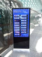 floor standing 43 46 47 49 50 55 inch HD ips open frame touch screen Monitors for Gaming signages Kiosk