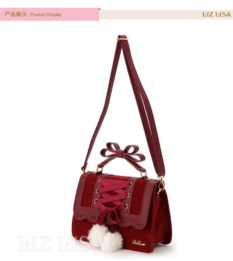 sacos de ombro das mulheres doce vermelho