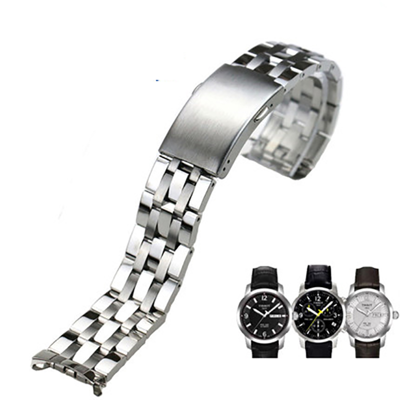 ISUNZUN Stainless Steel Watchbands For Tissot 1853 Series Metal Bracelet 19/20mm Width Watch Straps Belt Classic Straps ISUNZUN Stainless Steel Watchbands For Tissot 1853 Series Metal Bracelet 19/20mm Width Watch Straps Belt Classic Straps