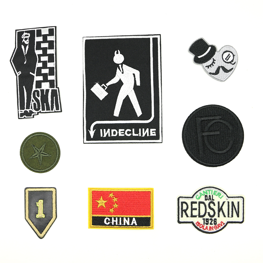 2018 New 1 pcs iron patches for clothing parches para la ropa A cheap patch D-040