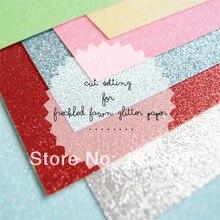 Американский дизайн 40 шт блестящая картонная бумага 12*12 дюймов 300 г красочная блестящая бумага для карт
