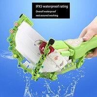 High Quality Handheld Automatic Dish Scrubber Brush Antibacterial Kitchen Dishwasher Brush Cleaning Wash Kitchen Tools