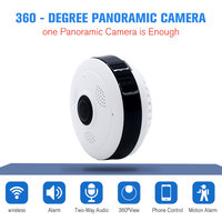 VR Panoramic HD 960P Camera Wireless IP Camera Wifi Home Surveillance System Wi Fi Camera 360 Degree Mini Security Camera