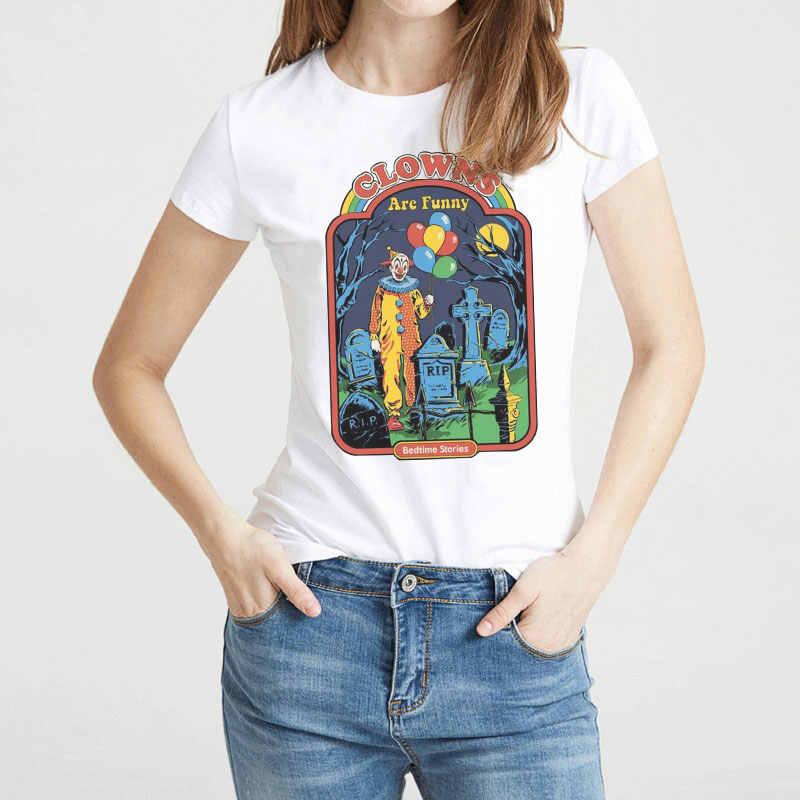 d7e7d7316d2 CDJLFH Summer Funny Short Sleeved Hillbilly Dont'talk To Strangers T Shirts  Women Harajuku Vintage Streetwea Woman Tshirt Top