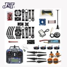 Conjunto completo diy rc zangão quadrocopter x4m360l quadro kit com gps apm 2.8 controle de vôo FS i6 6ch transmissor receptor quadcopter