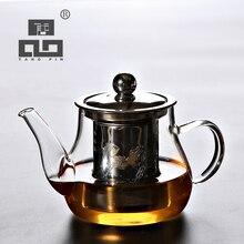 TANGPIN heat-resistant glass teapot with infuser tea pot set