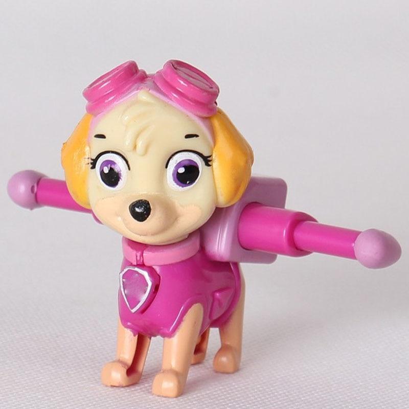 Figuras de Ação e Toy pata patrulha canina patrulla anime Controle Remoto : Não
