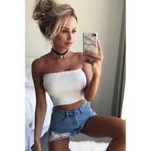 d5ca75fdfc Fashion Women Strapless Elastic Boob Bandeau Tube Tops Bra Lingerie Breast  Wrap Summer 2018